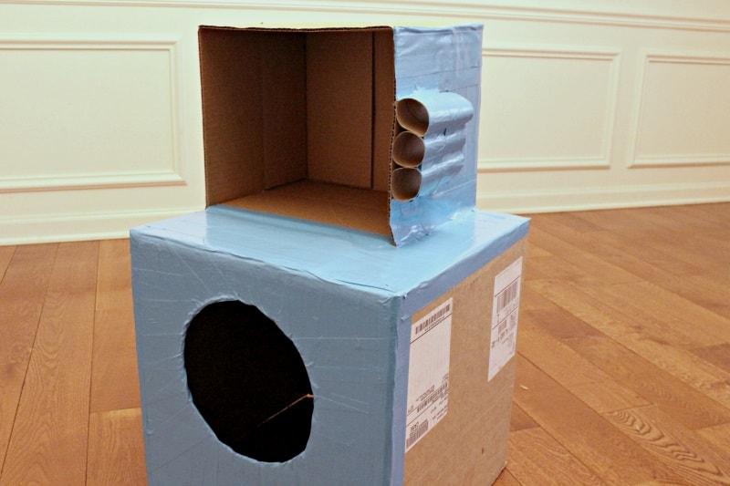 DIY cat playhouse 2